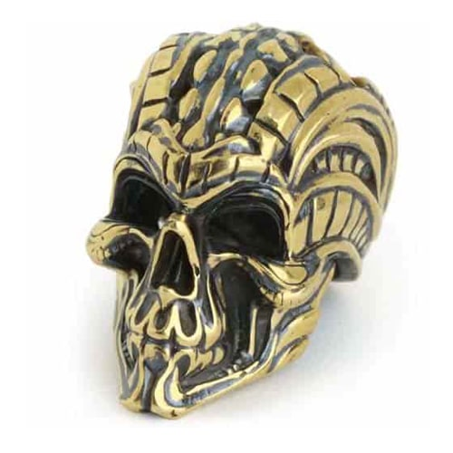 Accessories «Bio-mechanical Skull» for bracelets and lanyards